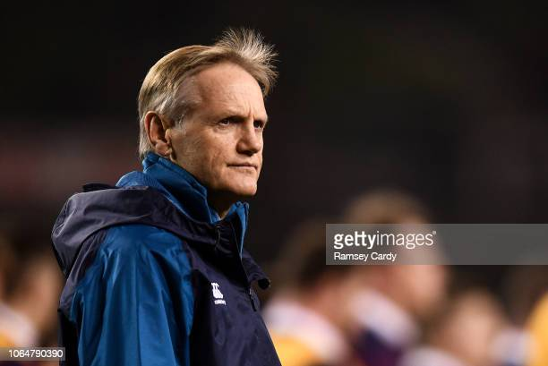 Dublin Ireland 24 November 2018 Ireland head coach Joe Schmidt ahead of the Guinness Series International match between Ireland and USA at the Aviva...
