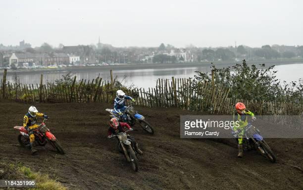 Dublin , Ireland - 24 November 2019; Action during the Dublin City Supercross at the Dublin City Motocross Track in Clontarf, Dublin.