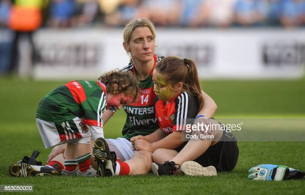 Dublin Ireland 24 September 2017 Cora Staunton of Mayo following the TG4 Ladies Football AllIreland Senior Championship Final match between Dublin...