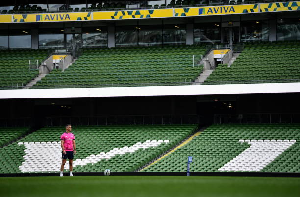 IRL: Leinster Rugby Captains Run