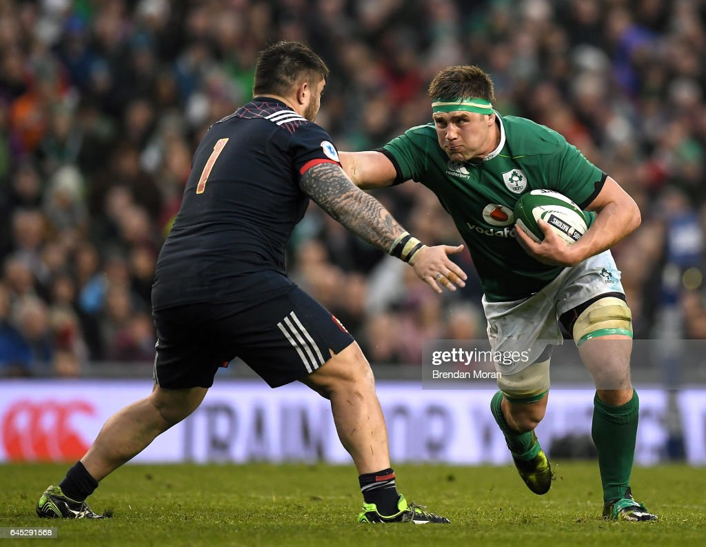 Ireland v France - RBS Six Nations Rugby Championship : News Photo