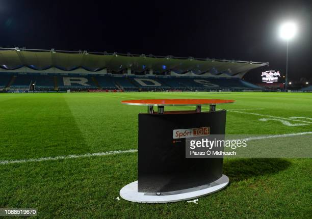 Dublin Ireland 25 January 2019 A general view of the RDS arena before during the Guinness PRO14 Round 14 match between Leinster and Scarlets at the...