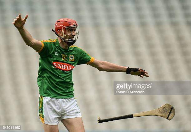 Dublin Ireland 25 June 2016 Steven Clynch of Meath celebrates at the final whistle after scoring the winning point during the Christy Ring Cup Final...