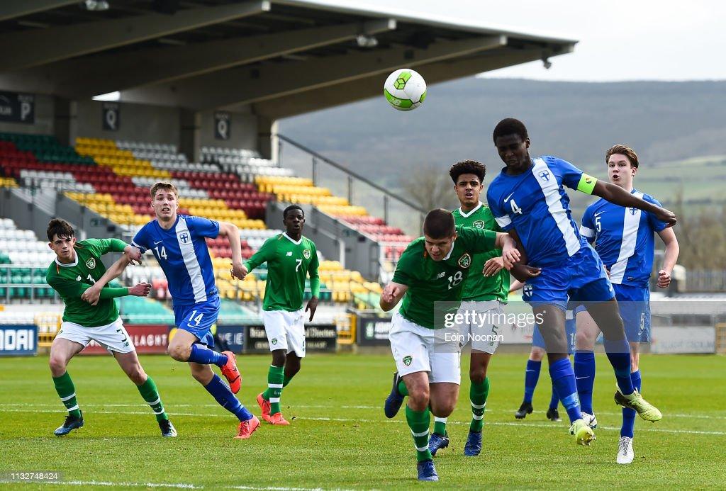 IRL: Republic of Ireland v Finland - U17 International Friendly