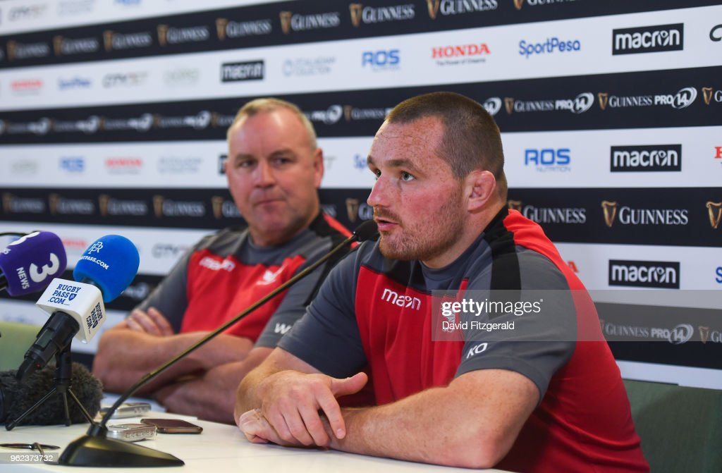 Scarlets Captains Run and Press Conference