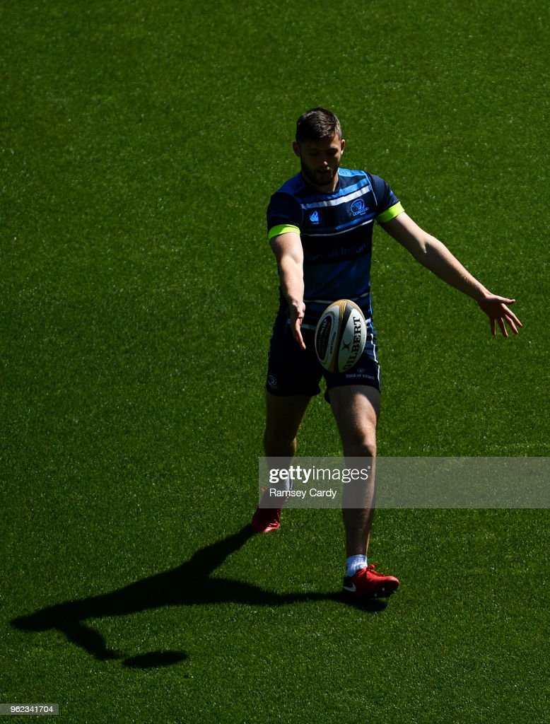 Leinster Captains Run and Press Conference