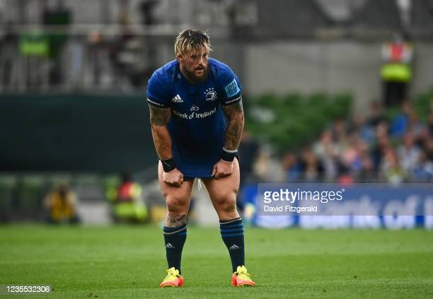Dublin , Ireland - 25 September 2021; Andrew Porter of Leinster during the United Rugby Championship match between Leinster and Vodacom Bulls at...