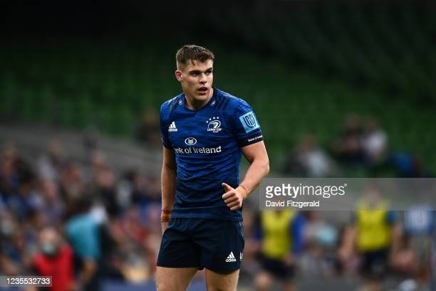 Dublin , Ireland - 25 September 2021; Garry Ringrose of Leinster during the United Rugby Championship match between Leinster and Vodacom Bulls at...