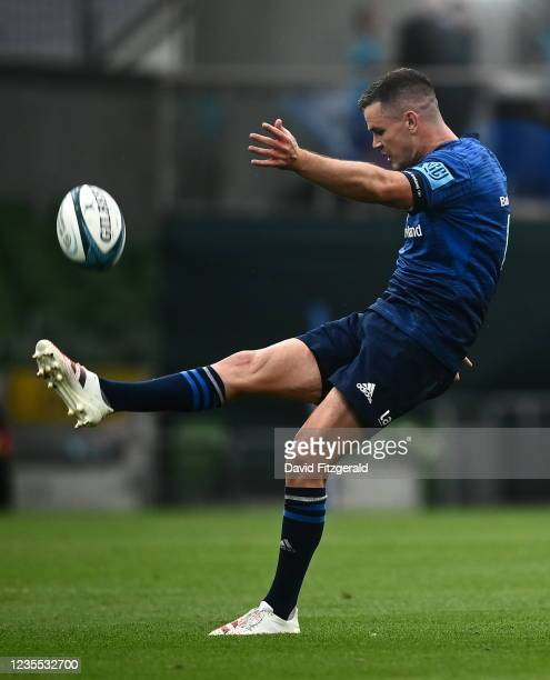 Dublin , Ireland - 25 September 2021; Jonathan Sexton of Leinster during the United Rugby Championship match between Leinster and Vodacom Bulls at...