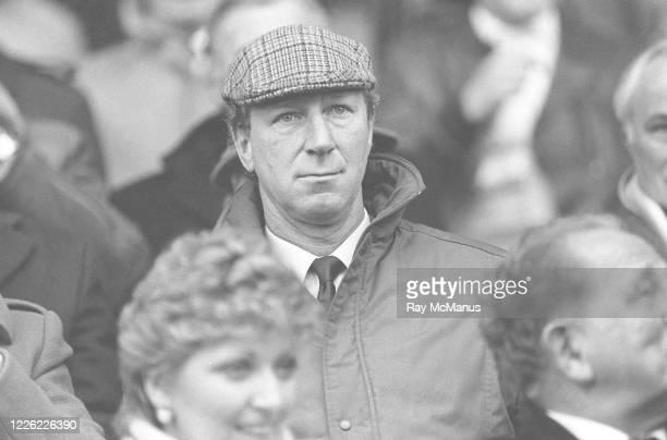 Dublin Ireland 26 March 1986 Republic of Ireland manager Jack Charlton during the International Friendly match between Republic of Ireland and Wales...