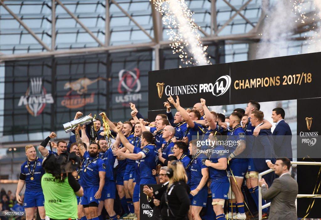 Leinster v Scarlets - Guinness PRO14 Final : News Photo