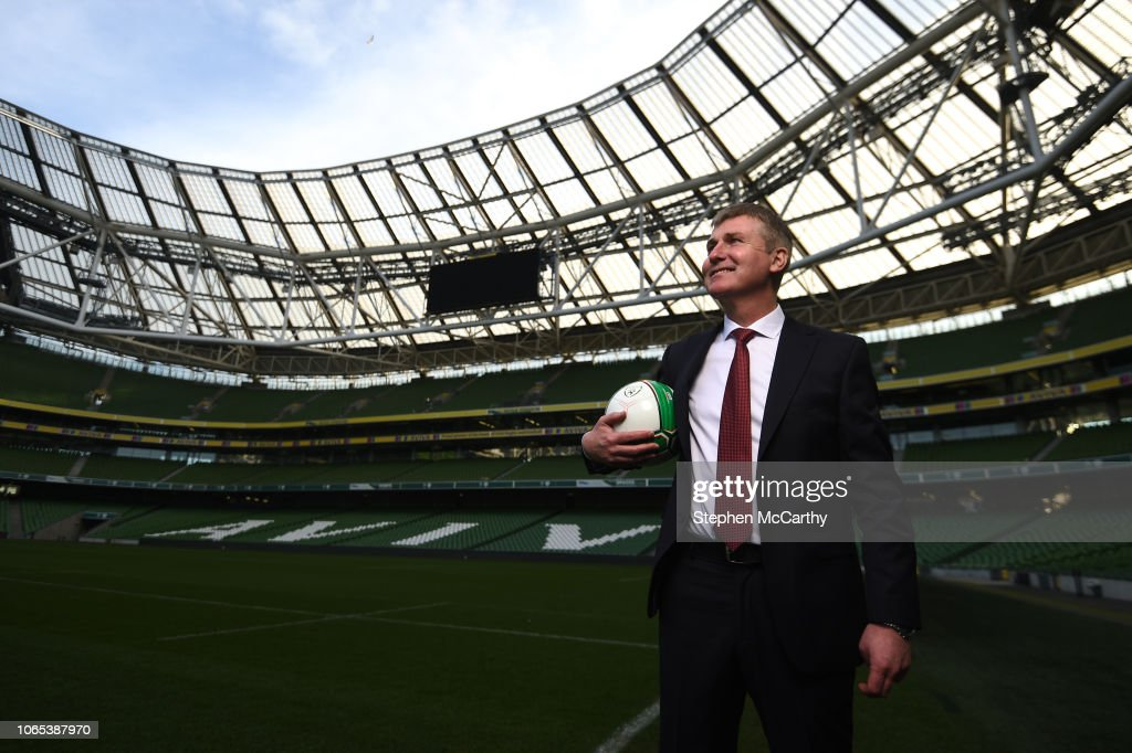 Republic of Ireland Unveil New U21 Manager Stephen Kenny : News Photo