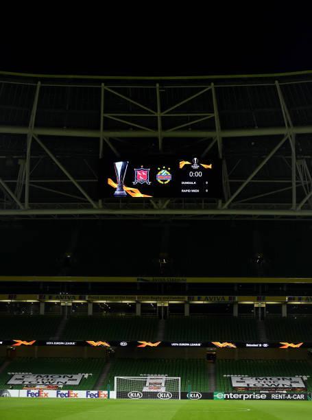 IRL: Dundalk FC v Rapid Wien: Group B - UEFA Europa League