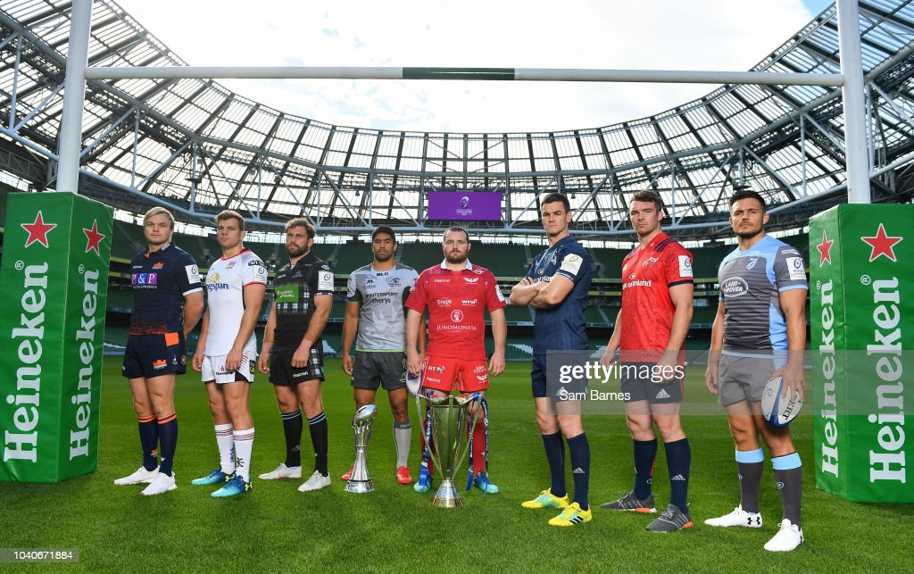 2018/19 Heineken Champions Cup and Challenge Cup Launch