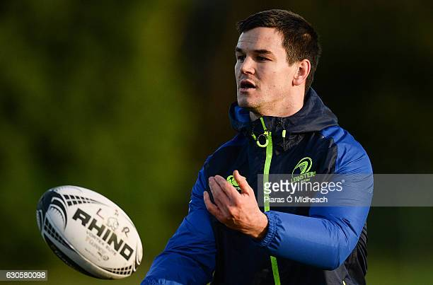 Dublin Ireland 27 December 2016 Jonathan Sexton of Leinster during squad training at Thornfields in UCD Dublin