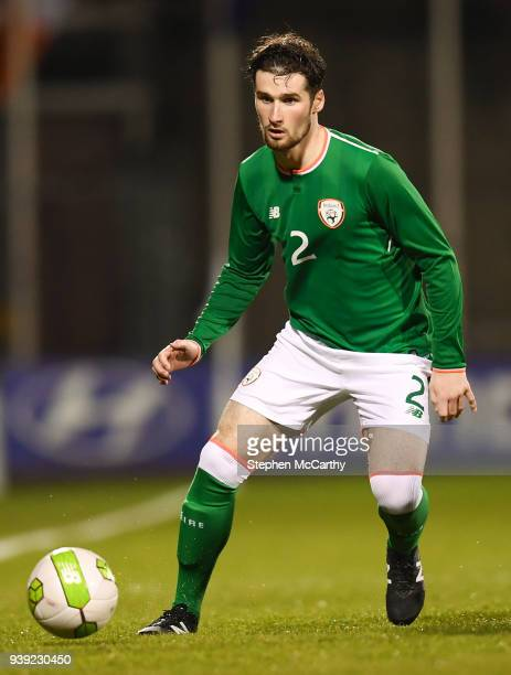 Dublin Ireland 27 March 2018 Corey Whelan of Republic of Ireland during the UEFA U21 Championship Qualifier match between the Republic of Ireland and...