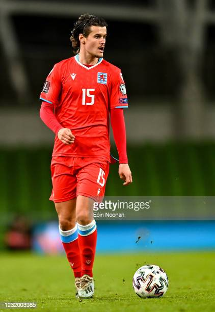 Dublin , Ireland - 27 March 2021; Olivier Thill of Luxembourg during the FIFA World Cup 2022 qualifying group A match between Republic of Ireland and...