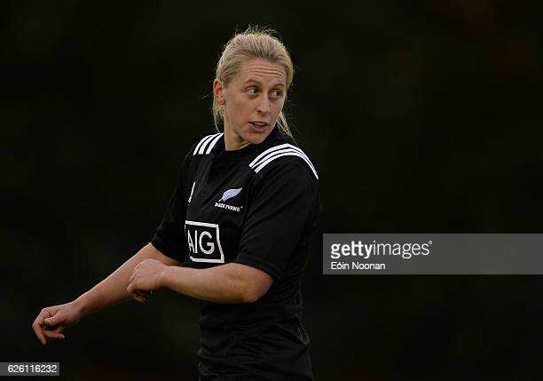 Dublin Ireland 27 November 2016 Kelly Brazier of New Zealand during the Women's Autumn International match between Ireland and New Zealand at the...