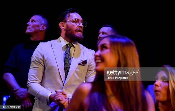 Dublin , Ireland - 27 September 2019; UFC fighter Conor McGregor in attendance at Bellator 227 in the 3Arena, Dublin.