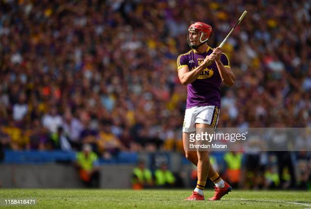 Dublin , Ireland - 28 July 2019; Lee Chin of Wexford during the GAA Hurling All-Ireland Senior Championship Semi Final match between Wexford and...