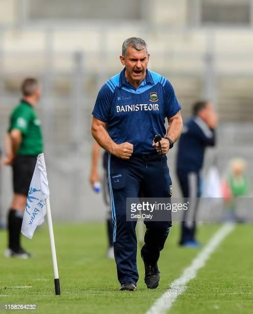 Dublin , Ireland - 28 July 2019; Tipperary manager Liam Sheedy during the GAA Hurling All-Ireland Senior Championship Semi Final match between...