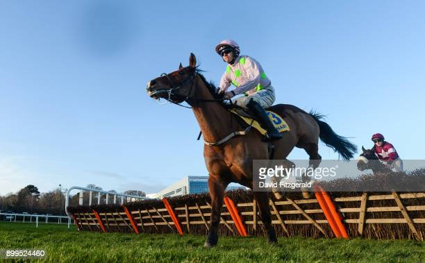 Dublin Ireland 29 December 2017 Faugheen with Paul Townend up clear the last first time round before subsequently pulling up during the Ryanair...