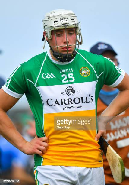Dublin Ireland 3 June 2018 Ronan Hughes of Offaly following his side's defeat during the Leinster GAA Hurling Senior Championship Round 4 match...