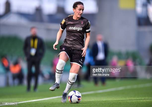 Dublin Ireland 3 November 2019 Kylie Murphy of Wexford Youths during the Só Hotels FAI Women's Cup Final between Wexford Youths and Peamount United...