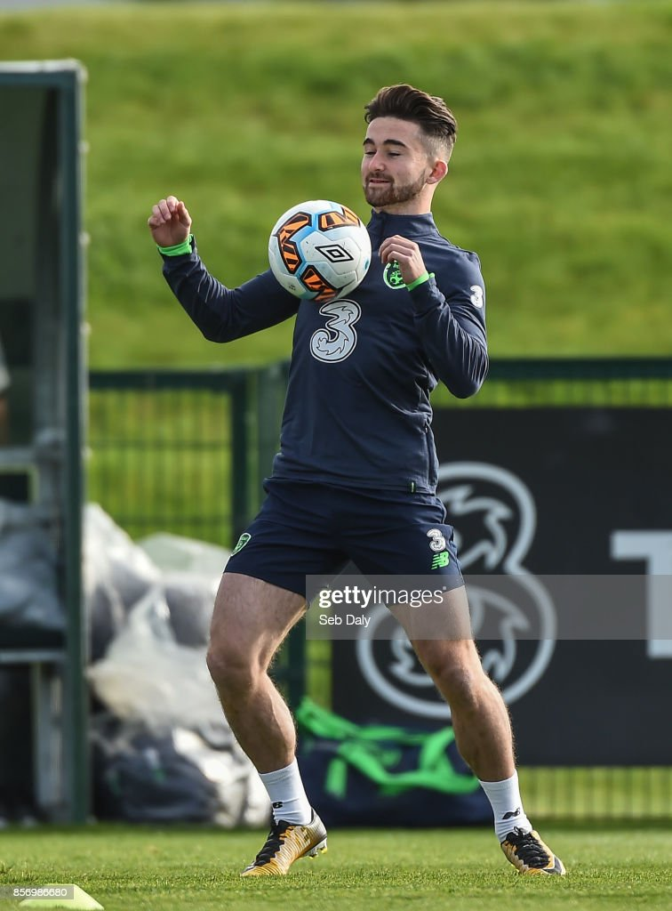 Republic of Ireland Squad Training and Press Conference