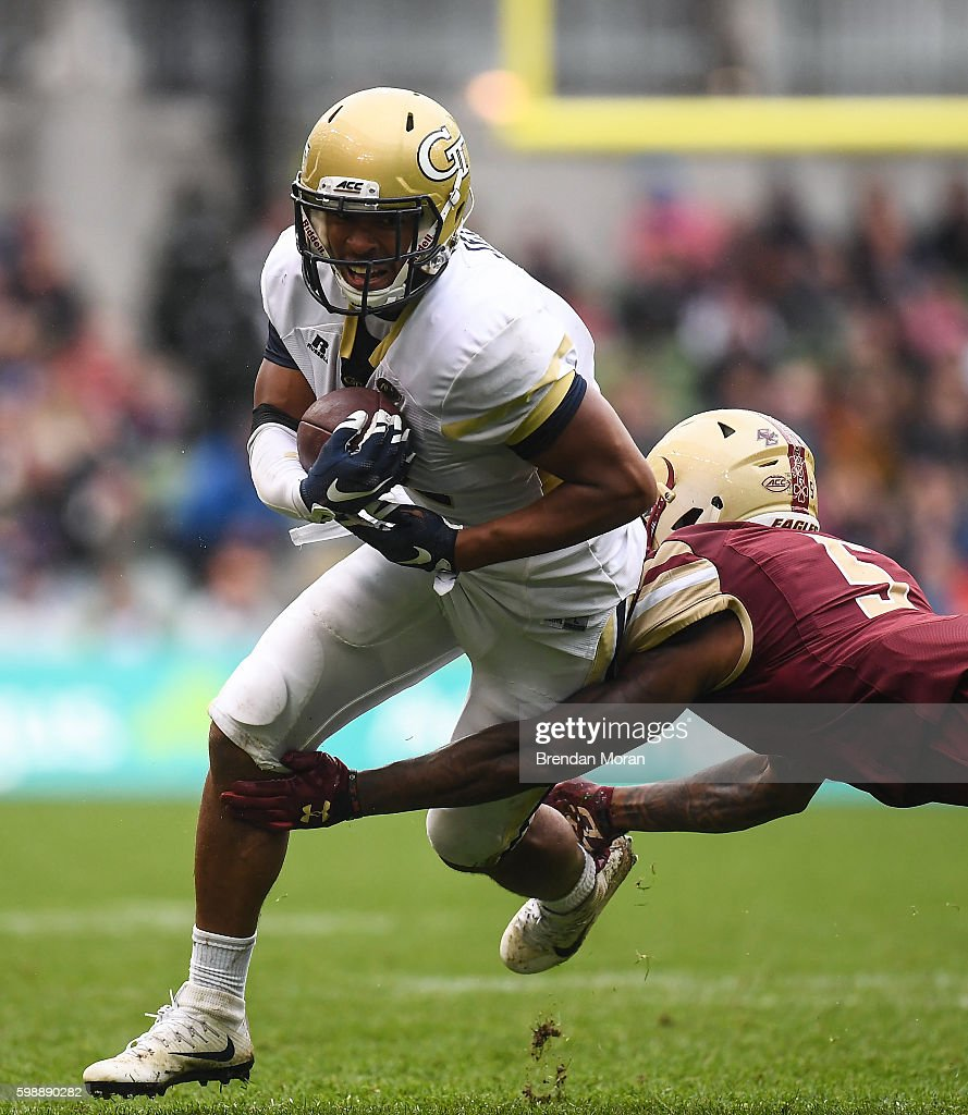 Aer Lingus College Football Classic - Boston College Eagles v Georgia Tech Yellow Jackets : News Photo