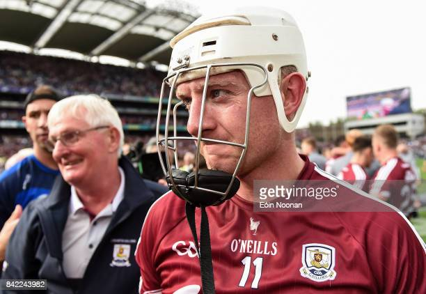 Dublin Ireland 3 September 2017 Joe Canning of Galway after the GAA Hurling AllIreland Senior Championship Final match between Galway and Waterford...