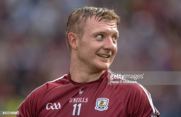 Dublin Ireland 3 September 2017 Joe Canning of Galway celebrates after the GAA Hurling AllIreland Senior Championship Final match between Galway and...