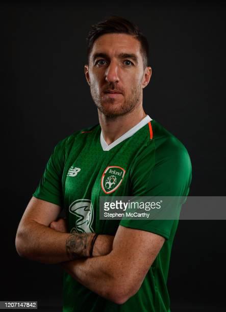 Dublin Ireland 3 September 2018 Stephen Ward during a Republic of Ireland portrait session at their team hotel in Dublin