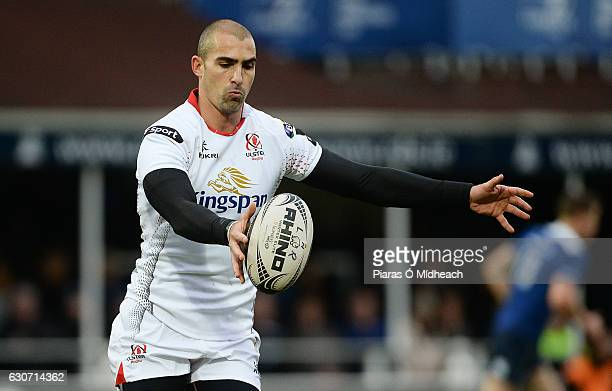 Dublin Ireland 31 December 2016 Ruan Pienaar of Ulster during the Guinness PRO12 Round 12 match between Leinster and Ulster at the RDS Arena in Dublin