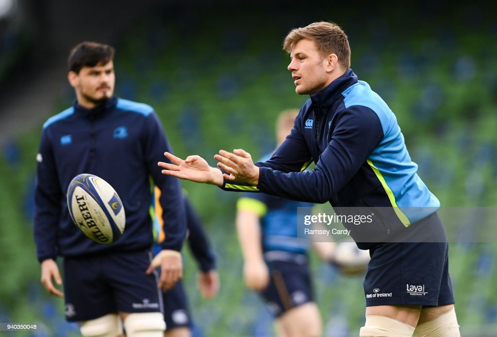 Leinster Rugby Captains Run