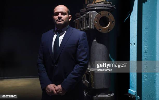 Dublin Ireland 31 October 2017 Rory Best of Ireland poses for a portrait following a press conference at the Guinness Storehouse in Dublin