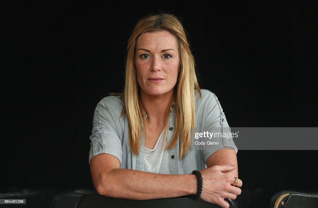 Dublin , Ireland - 4 April 2017; Republic of Ireland Women's National Team captain Emma Byrne following a women's national team press conference at Liberty Hall in Dublin.
