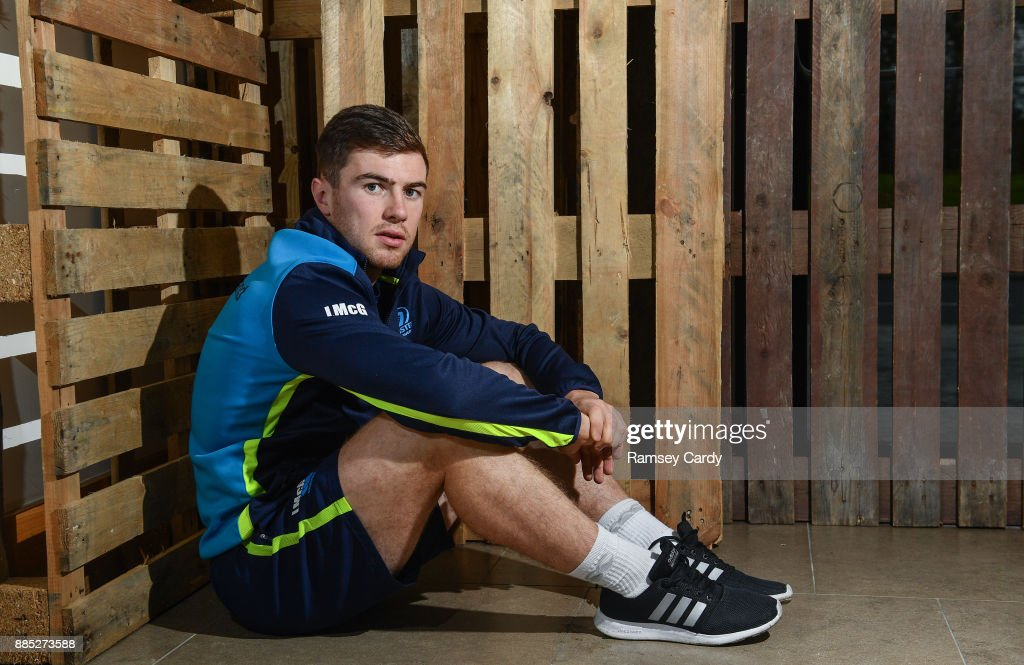Leinster Rugby Squad Training and Press Conference : News Photo
