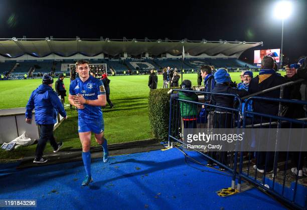 Dublin Ireland 4 January 2020 Garry Ringrose of Leinster following the Guinness PRO14 Round 10 match between Leinster and Connacht at the RDS Arena...