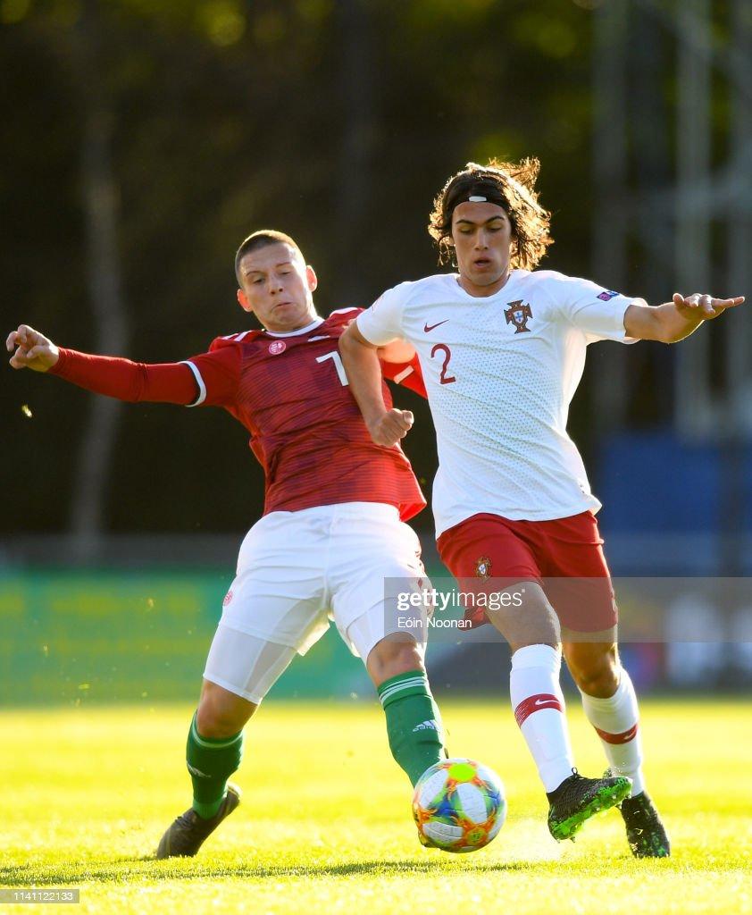 Hungary v Portugal - 2019 UEFA European Under-17 Championships Group C : News Photo