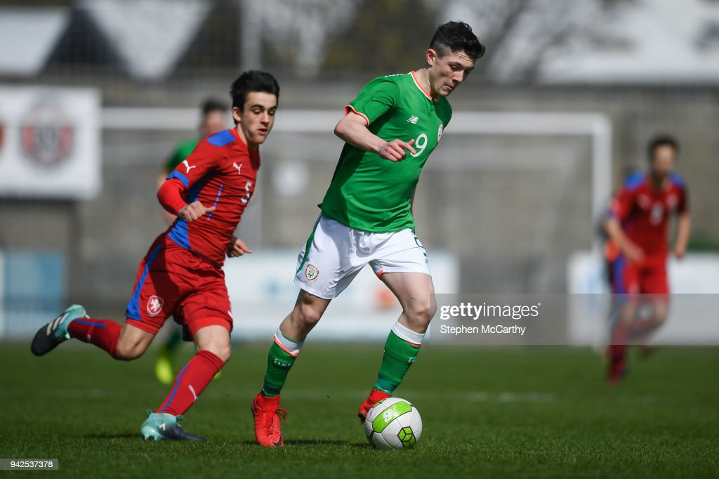 Republic of Ireland v Czech Republic - U15 International Friendly : News Photo