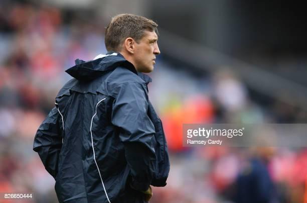 Dublin Ireland 5 August 2017 Armagh manager Kieran McGeeney during the GAA Football AllIreland Senior Championship QuarterFinal match between Tyrone...