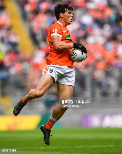 Dublin Ireland 5 August 2017 James Morgan of Armagh during the GAA Football AllIreland Senior Championship QuarterFinal match between Tyrone and...