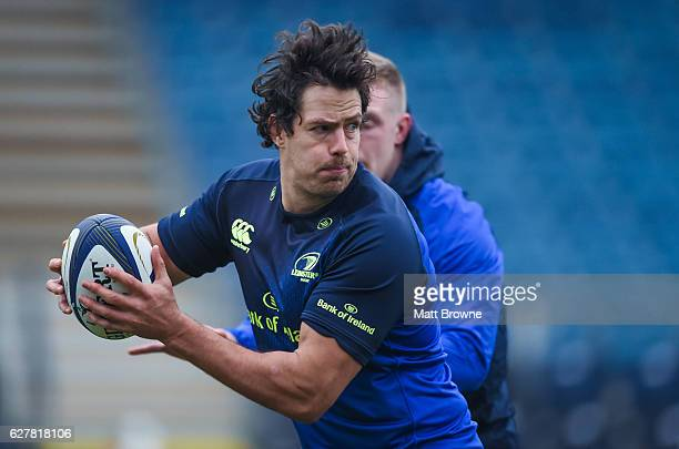 Dublin Ireland 5 December 2016 Mike McCarthy of Leinster during squad training at UCD in Belfield Dublin