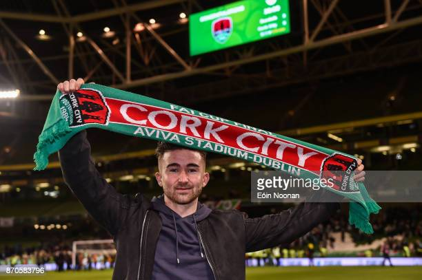 Dublin Ireland 5 November 2017 Former Cork City player Sean Maguire now of Preston North End after the Irish Daily Mail FAI Senior Cup Final match...