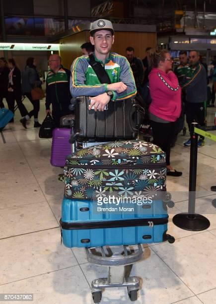 Dublin Ireland 5 November 2017 Paul Geaney of Ireland at Dublin Airport in Dublin prior to departure for Melbourne ahead of the Virgin Australia...