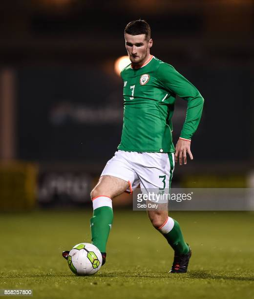 Dublin Ireland 5 October 2017 Corey Whelan of Republic of Ireland during the UEFA European U21 Championship Qualifier match between Republic of...