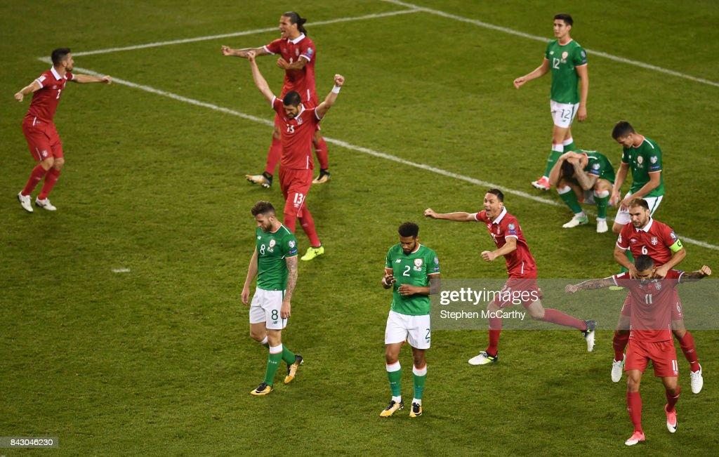 Republic of Ireland v Serbia - FIFA 2018 World Cup Qualifier