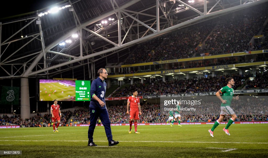Republic of Ireland v Serbia - FIFA World Cup Qualifier Group D : News Photo