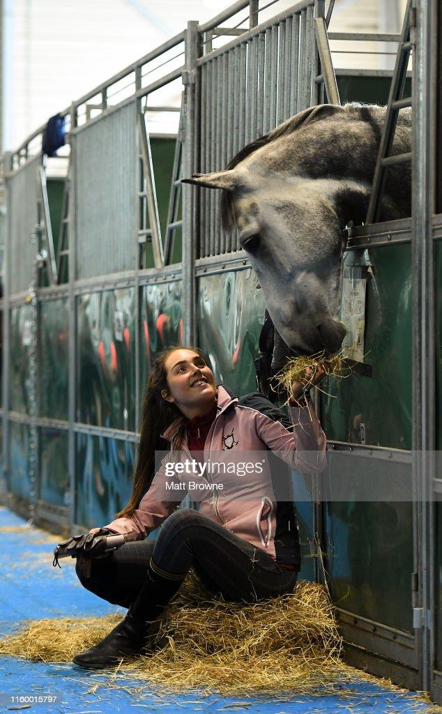 Stena Line Dublin Horse Show 2019 - Previews : News Photo